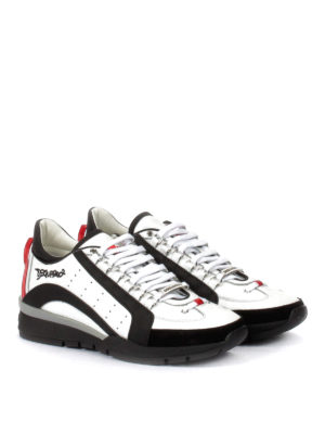 Dsquared2: trainers online - 551 leather and nylon sneakers