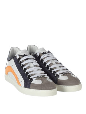 Dsquared2: trainers online - 551 leather and suede sneakers