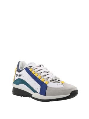 Dsquared2: trainers online - 551 nubuck detail leather sneakers