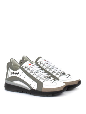 Dsquared2: trainers online - 551 two-tone sneakers