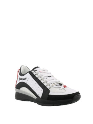 Dsquared2: trainers online - 551 white lightweight sneakers