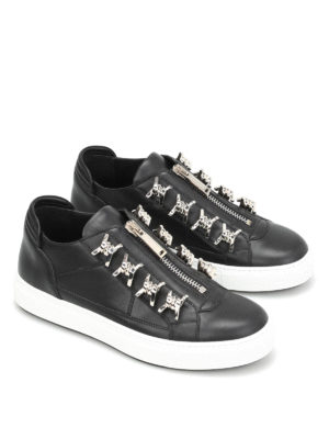 Dsquared2: trainers online - Asylum metal detail zipped sneakers