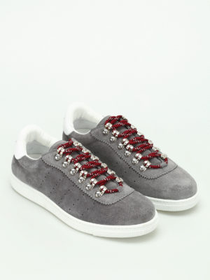 Dsquared2: trainers online - Barney suede sneakers