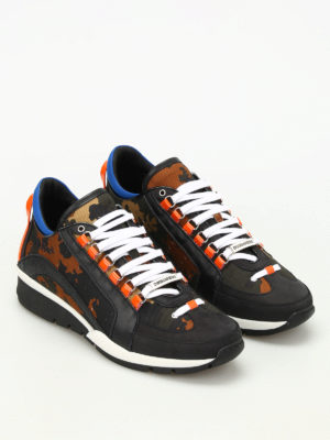 Dsquared2: trainers online - Camouflage 551 sneakers
