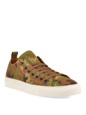 Dsquared2: trainers online - Camouflage Basquettes sneakers