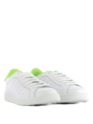 Dsquared2: trainers online - Green detail Santa Monica sneakers