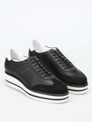 Dsquared2: trainers online - H323 New Route wedge lace-ups