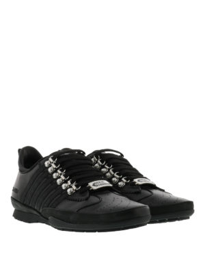 Dsquared2: trainers online - Leather 251 sporty sneakers