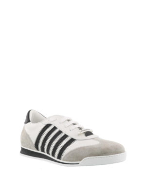 Dsquared2: trainers online - New Runner white flat sneakers