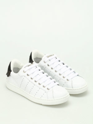 Dsquared2: trainers online - Santa Monica leather sneakers