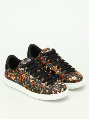 Dsquared2: trainers online - Santa Monica printed sneakers