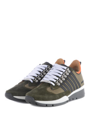 Dsquared2: trainers online - Suede and fabric 251 sneakers