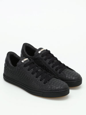 Dsquared2: trainers online - Tennis Club snake print sneakers