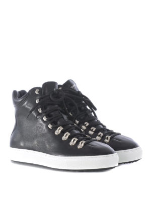 Dsquared2: trainers online - Whistler leather high top sneakers
