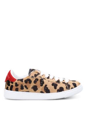 Dsquared2: trainers - Santa Monica calf hair sneakers