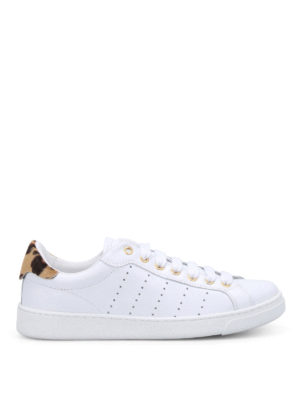 Dsquared2: trainers - Santa Monica leather sneakers