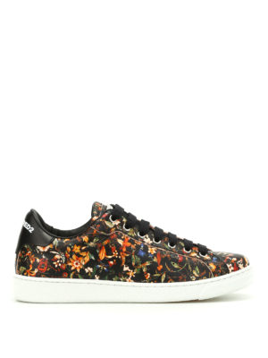 Dsquared2: trainers - Santa Monica printed sneakers