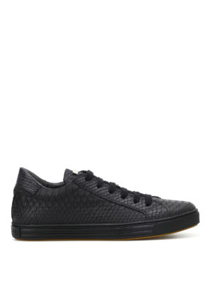 Dsquared2: trainers - Tennis Club snake print sneakers