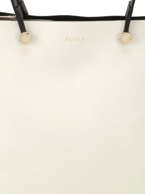 Eden medium leather tote shop online: Furla