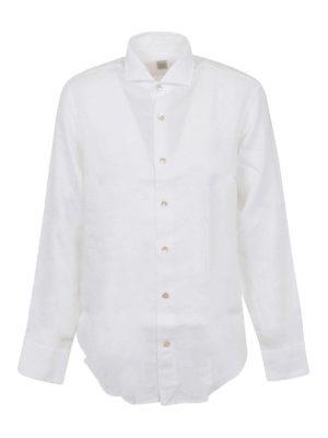 ELEVENTY: shirts - Linen shirt