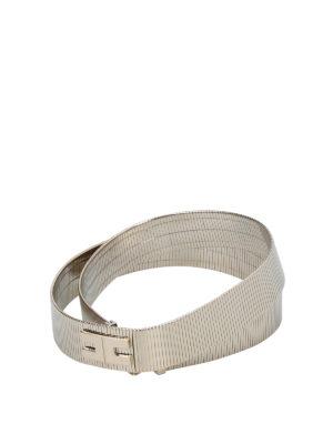 Elisabetta Franchi: belts - Metal waist belt