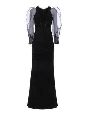 Elisabetta Franchi: evening dresses - Mermaid evening gown