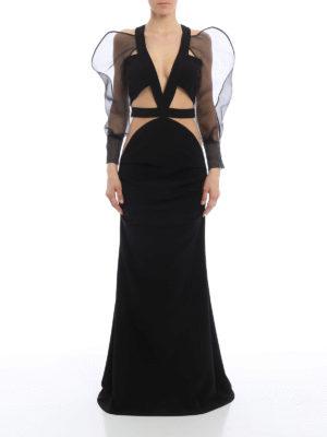 Elisabetta Franchi: evening dresses online - Mermaid evening gown