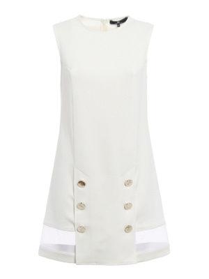 Elisabetta Franchi: short dresses - Button detailed sheath dress