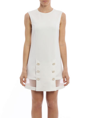 Elisabetta Franchi: short dresses online - Button detailed sheath dress