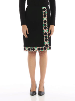 Emilio Pucci: Knee length skirts & Midi online - Monreale printed cady skirt