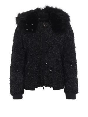 EMPORIO ARMANI: giacche casual - Giacca decorata con zip davanti e dietro
