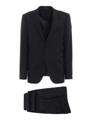 Emporio Armani: formal suits - Wool gauze tailored formal suit