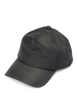 EMPORIO ARMANI: cappelli - Cappellino in nylon con stampa logo
