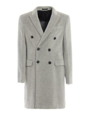 EMPORIO ARMANI: cappotti al ginocchio - Cappotto misto alpaca e lana
