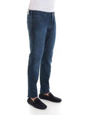 a sigaretta - Jeans J06 in denim cinque tasche