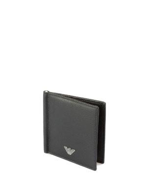 EMPORIO ARMANI: portafogli online - Porta carte con fermasoldi