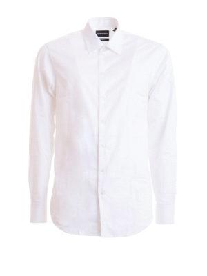 EMPORIO ARMANI: shirts - Classic cotton shirt