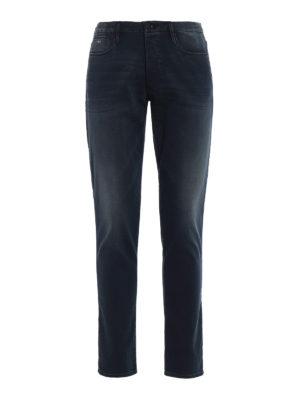 Emporio Armani: skinny jeans - J11 soft touch skinny jeans