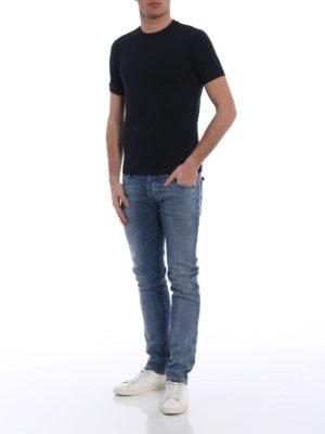 Emporio Armani: skinny jeans online - J 20 extra slim stone washed jeans