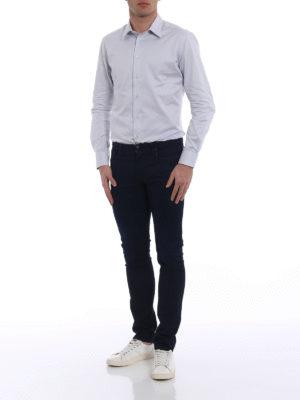 Emporio Armani: skinny jeans online - J06 dark wash slim jeans