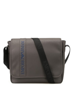 Emporio Armani Swimwear: cross body bags - Faux leather cross body bag