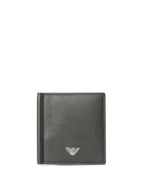 EMPORIO ARMANI: portafogli - Porta carte con fermasoldi