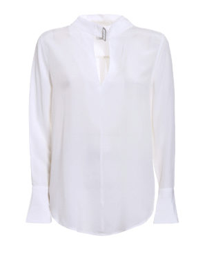 Equipment: blouses - Janelle silk blouse