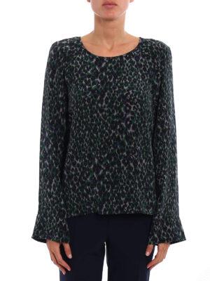 Equipment: blouses online - Abeline printed silk blouse