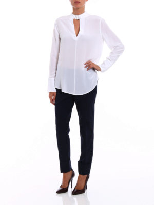 Equipment: blouses online - Janelle silk blouse