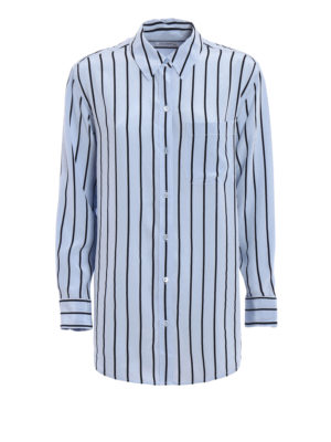 Equipment: shirts - Daddy striped silk shirt