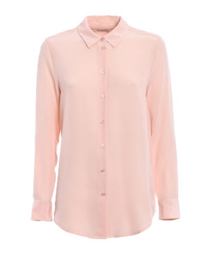 Equipment: shirts - Essential pink silk shirt