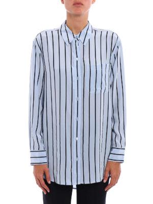 Equipment: shirts online - Daddy striped silk shirt