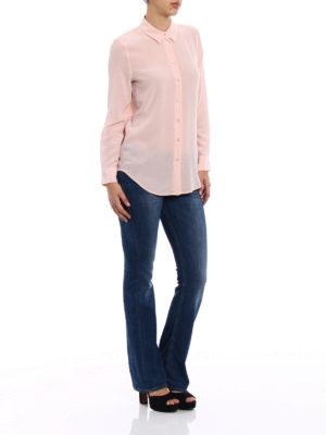 Equipment: shirts online - Essential pink silk shirt
