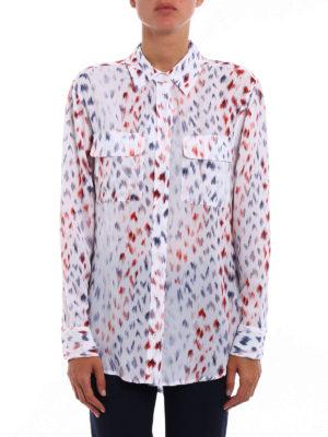 Equipment: shirts online - Signature printed silk crepe shirt